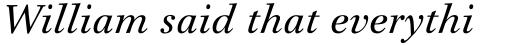 Iridium Pro Italic sample