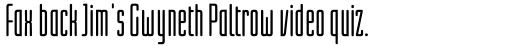 Linotype Lichtwerk Pro Bold sample