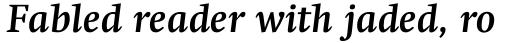 Swift Std Bold Italic sample