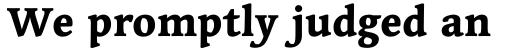Linotype Syntax Serif Std Heavy sample