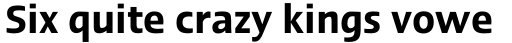 Linotype Ergo Pro Demi Condensed sample