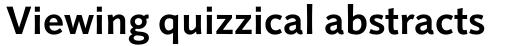 Linotype Projekt Pro Bold sample