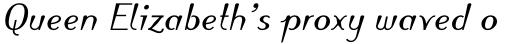 Linotype Puritas Pro Bold Italic sample