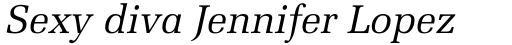Melior Pro Italic sample