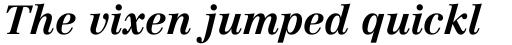 Linotype Centennial Pro 76 Bold Italic sample