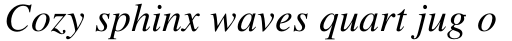 Times Pro Italic sample
