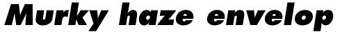 Futura Pro ExtraBold Oblique sample