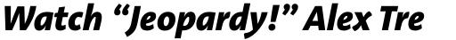 Aroma No. 2 Pro ExtraBold Italic sample