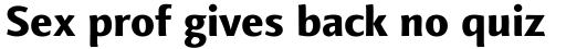 Finnegan Pro ExtraBold sample