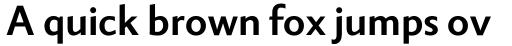 Berling Nova Sans Pro Bold sample