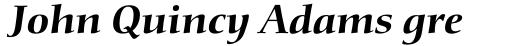 Diotima Classic Pro Bold Italic sample