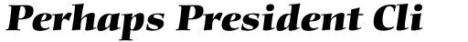 Diotima Classic Pro Heavy Italic sample