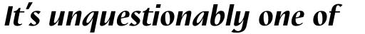 Nautilus Text Pro Black Italic sample