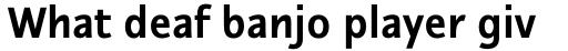 Nautilus Monoline Pro Bold sample