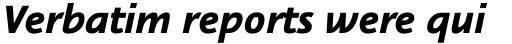 Nautilus Monoline Pro Black Italic sample