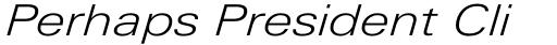 Univers Next Pro 341 Extended Light Italic sample