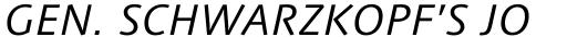 Syntax Next Std Greek Italic sample