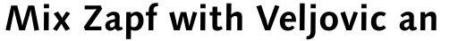 Syntax Next Paneuropean W1G Bold sample