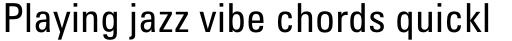 Univers Pro Cyrillic 57 Condensed Roman sample