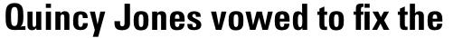 Univers Pro Cyrillic 67 Condensed Bold sample