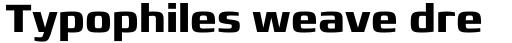 Francker Paneuropean W1G Bold sample