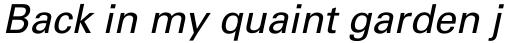 Univers Pro Cyrillic 55 Oblique sample
