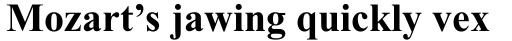 Times New Roman Cyrillic Bold sample