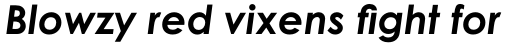 Century Gothic WGL Bold Italic sample