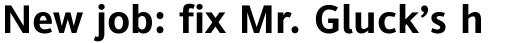 Andale Sans WGL Bold sample