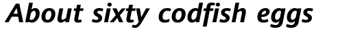Andale Sans WGL Bold Italic sample