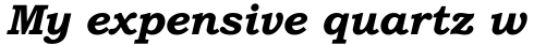 Bookman Old Style Paneuropean WGL Bold Italic sample