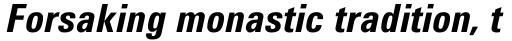 Utah WGL Condensed Bold Italic sample