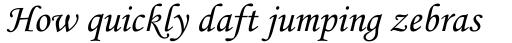 Monotype Corsiva WGL Regular sample