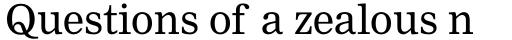 Nimrod Pro Cyrillic Regular sample