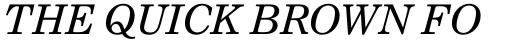 Nimrod Pro Greek Italic sample