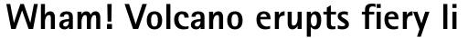 Rotis Sans Serif Std 75 ExtraBold sample