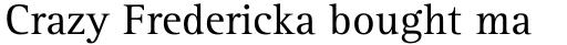Rotis Serif Std 55 Roman sample
