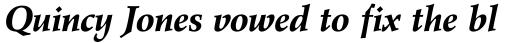Wile Std Bold Italic sample