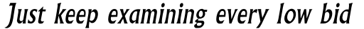 Albertus Std Italic sample