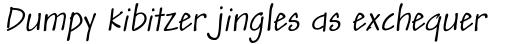 Andy Std Italic sample