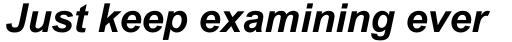 Arial Std Bold Italic sample