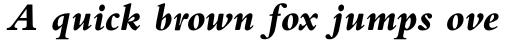 Bembo Std ExtraBold Italic sample