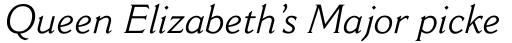 Cantoria Std Italic sample