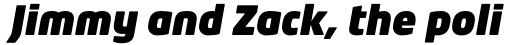 Neo Tech Pro Ultra Italic sample
