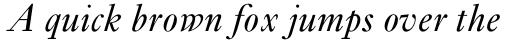 Ehrhardt Pro Italic sample