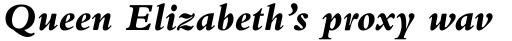 Bembo Pro ExtraBold Italic sample