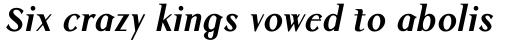 Colmcille Std Bold Italic sample
