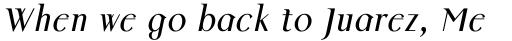 Colmcille Std Italic sample