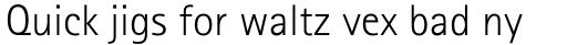 Rotis Sans Serif Pro 45 Light sample