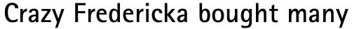 Rotis Sans Serif Pro 65 Bold sample